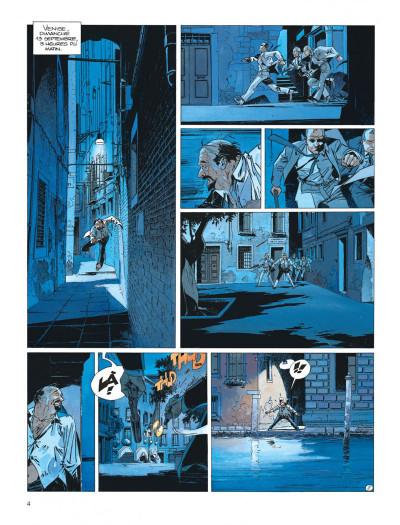 Page 4 Largo Winch tome 9 - voir Venise...