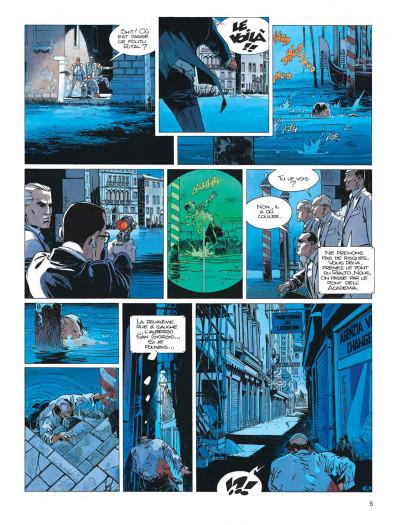 Page 5 Largo Winch tome 9 - voir Venise...
