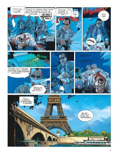 Page 7 Largo Winch tome 9 - voir Venise...