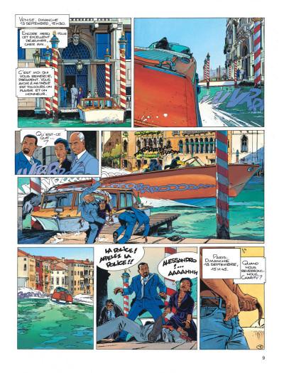 Page 9 Largo Winch tome 9 - voir Venise...