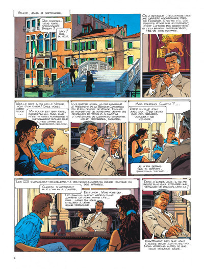Page 4 Largo Winch tome 10 - ... et mourir