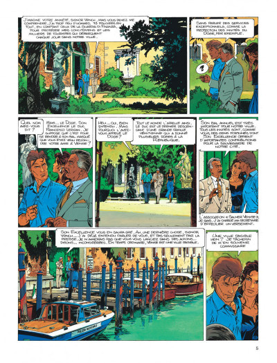 Page 5 Largo Winch tome 10 - ... et mourir