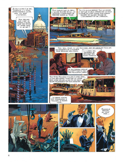 Page 6 Largo Winch tome 10 - ... et mourir