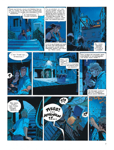 Page 7 Largo Winch tome 10 - ... et mourir