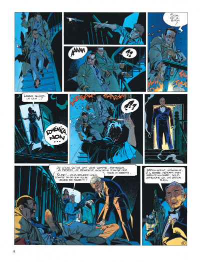 Page 8 Largo Winch tome 10 - ... et mourir