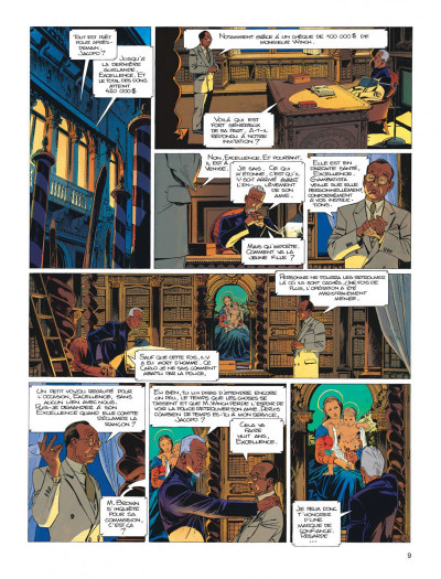 Page 9 Largo Winch tome 10 - ... et mourir