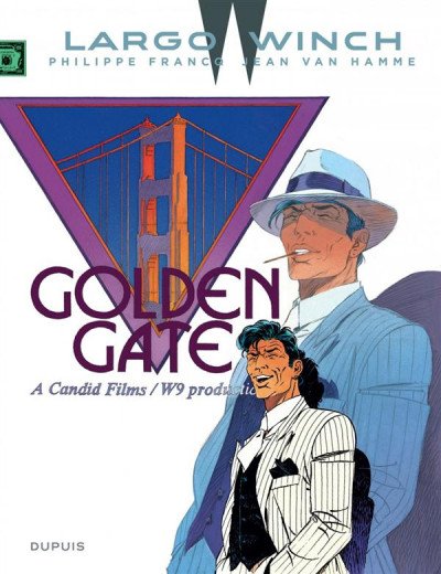 Couverture Largo Winch tome 11 - golden gate