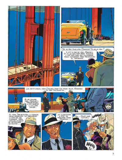 Page 3 Largo Winch tome 11 - golden gate