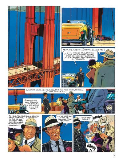 Page 3 Largo Winch tome 11 - golden gate