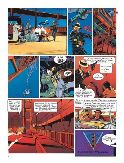 Page 4 Largo Winch tome 11 - golden gate