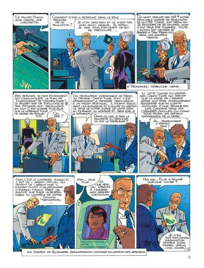 Page 5 Largo Winch tome 11 - golden gate