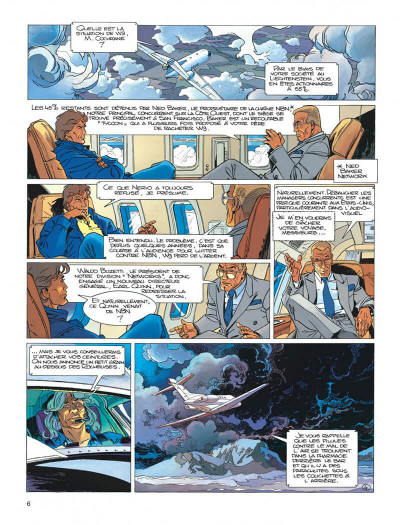 Page 6 Largo Winch tome 11 - golden gate