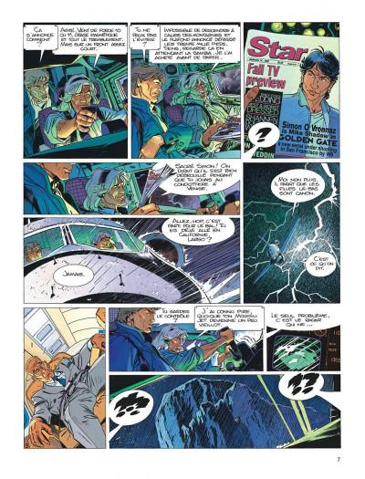 Page 7 Largo Winch tome 11 - golden gate