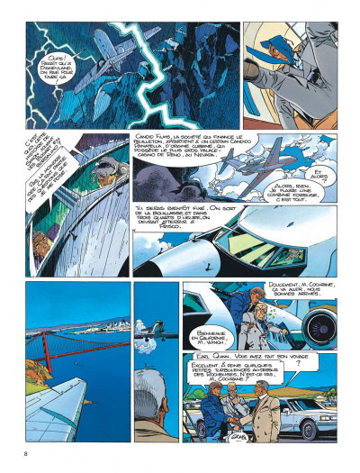 Page 8 Largo Winch tome 11 - golden gate
