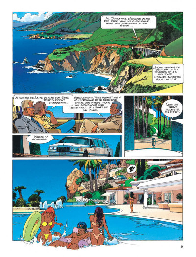 Page 9 Largo Winch tome 11 - golden gate