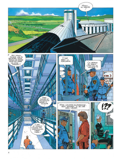 Page 4 Largo Winch tome 12 - shadow