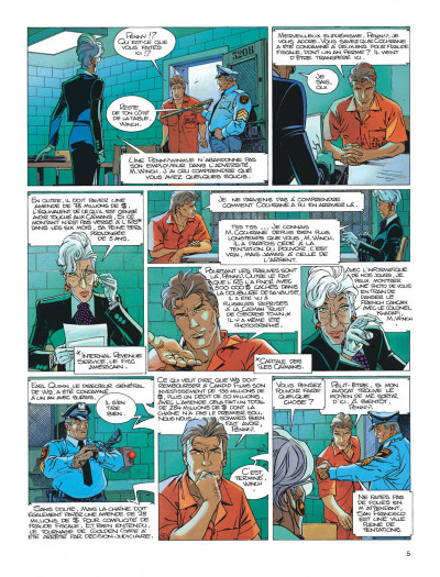 Page 5 Largo Winch tome 12 - shadow