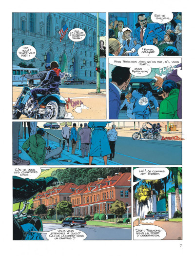 Page 7 Largo Winch tome 12 - shadow