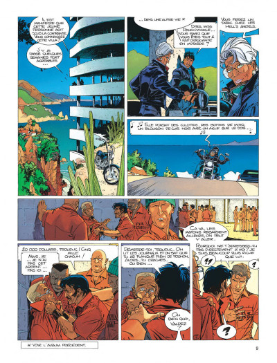Page 9 Largo Winch tome 12 - shadow