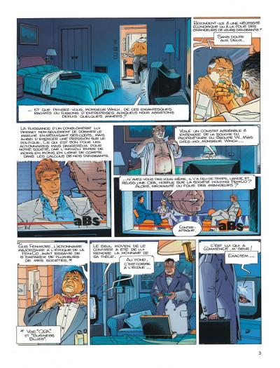Page 3 Largo Winch tome 13 - le prix de l'argent