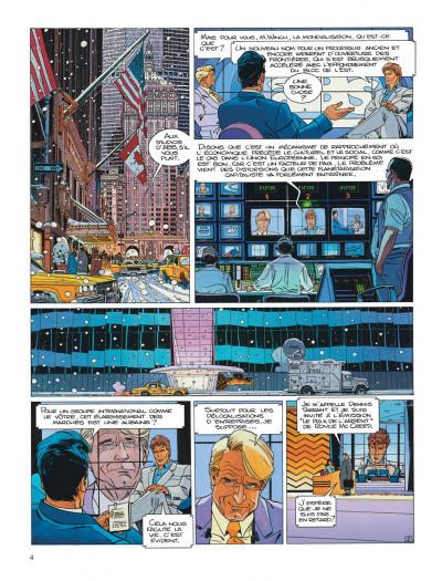 Page 4 Largo Winch tome 13 - le prix de l'argent