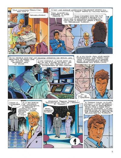 Page 5 Largo Winch tome 13 - le prix de l'argent
