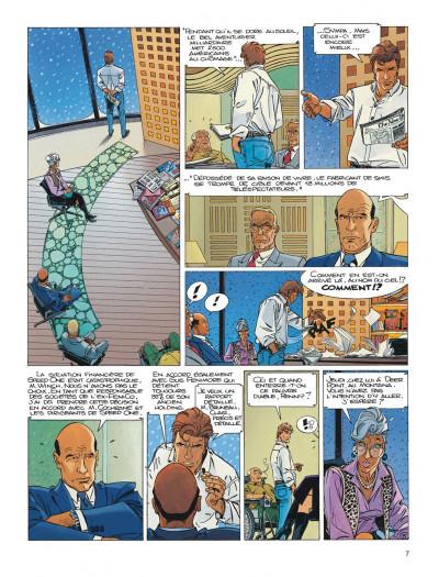 Page 7 Largo Winch tome 13 - le prix de l'argent
