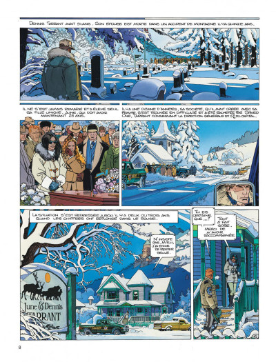 Page 8 Largo Winch tome 13 - le prix de l'argent