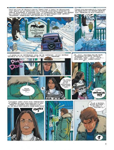 Page 9 Largo Winch tome 13 - le prix de l'argent