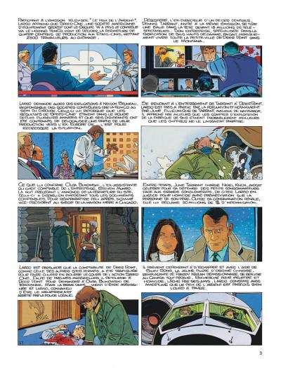 Page 3 Largo Winch tome 14 - la loi du dollar