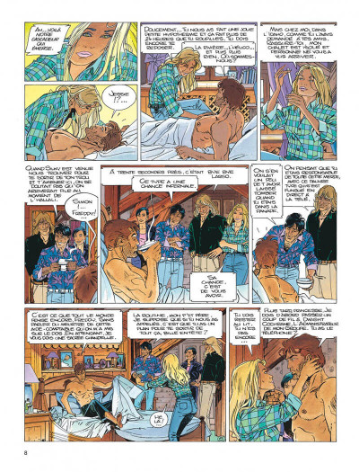 Page 8 Largo Winch tome 14 - la loi du dollar