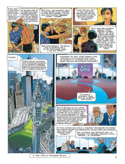 Page 9 Largo Winch tome 14 - la loi du dollar
