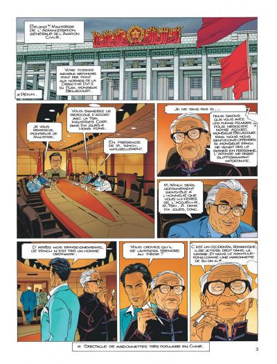 Page 3 Largo Winch tome 15 - les trois yeux des gardiens du tao
