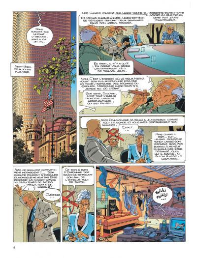 Page 4 Largo Winch tome 15 - les trois yeux des gardiens du tao