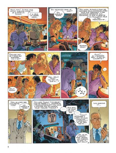 Page 6 Largo Winch tome 15 - les trois yeux des gardiens du tao