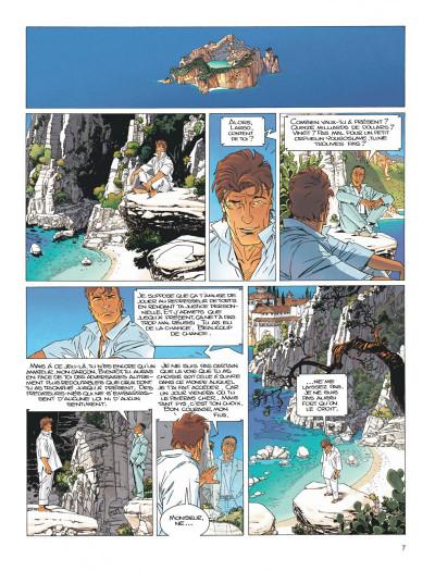 Page 7 Largo Winch tome 15 - les trois yeux des gardiens du tao