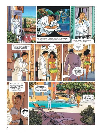 Page 8 Largo Winch tome 15 - les trois yeux des gardiens du tao