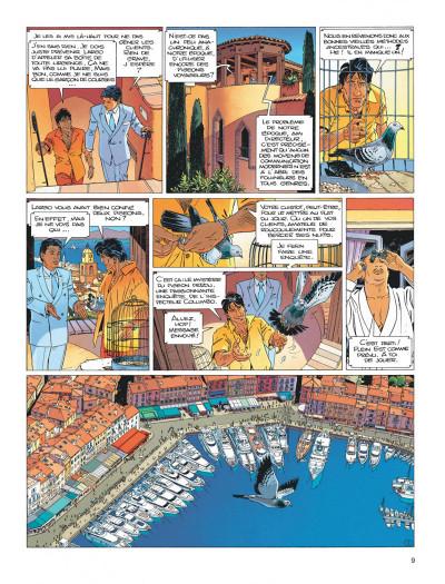 Page 9 Largo Winch tome 15 - les trois yeux des gardiens du tao