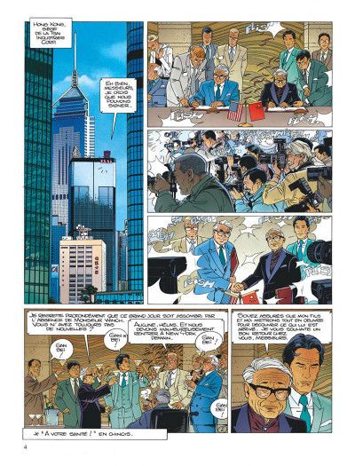 Page 4 Largo Winch tome 16