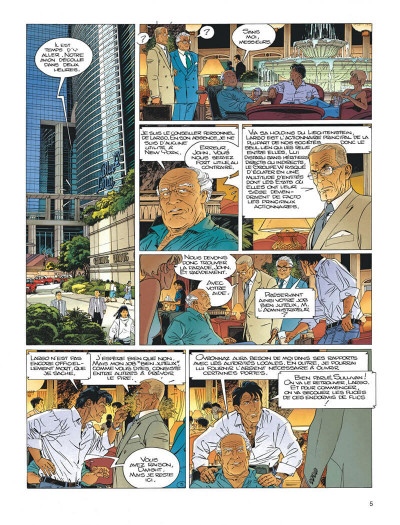 Page 5 Largo Winch tome 16