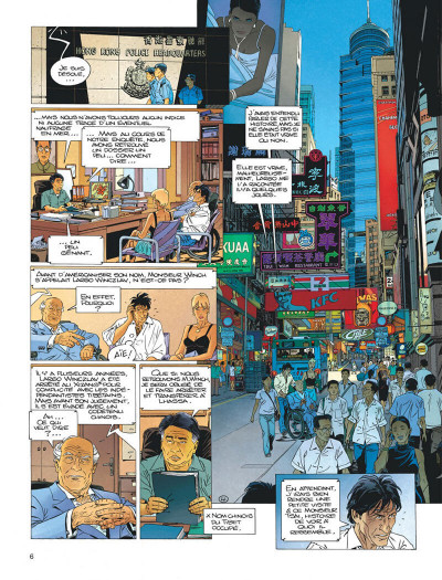 Page 6 Largo Winch tome 16
