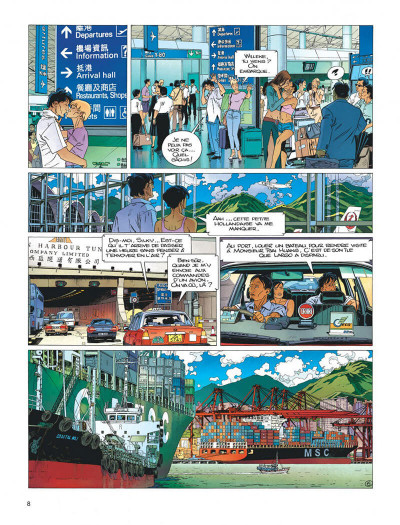 Page 8 Largo Winch tome 16