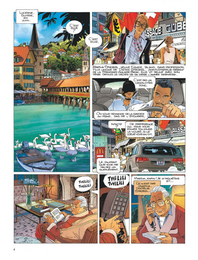 Page 4 Largo Winch tome 17