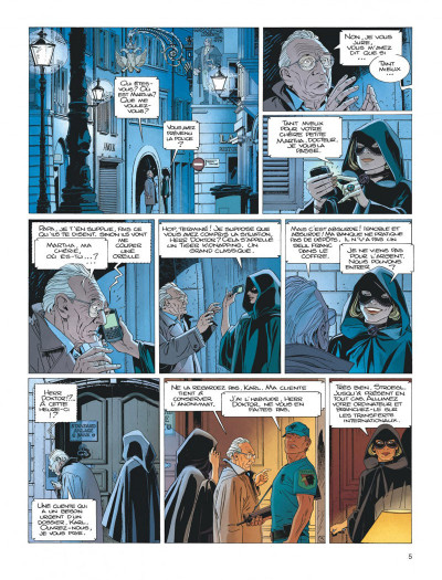Page 5 Largo Winch tome 17