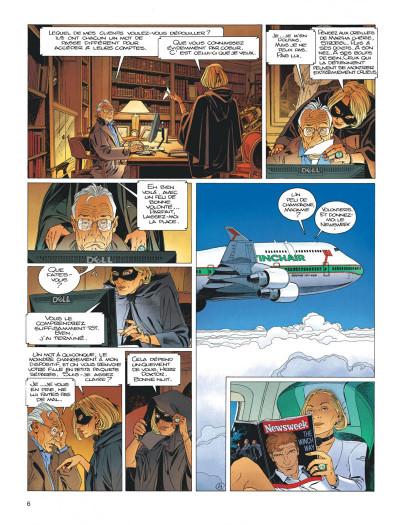 Page 6 Largo Winch tome 17