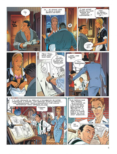 Page 5 Largo Winch tome 18