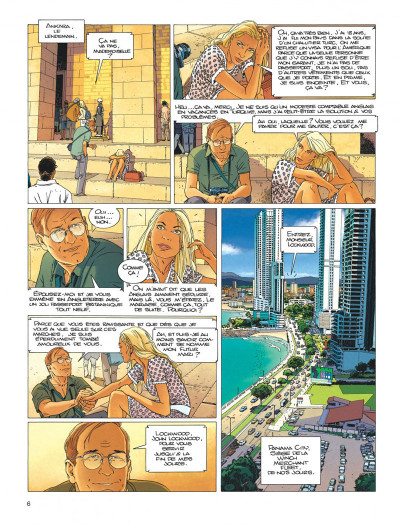 Page 6 Largo Winch tome 18