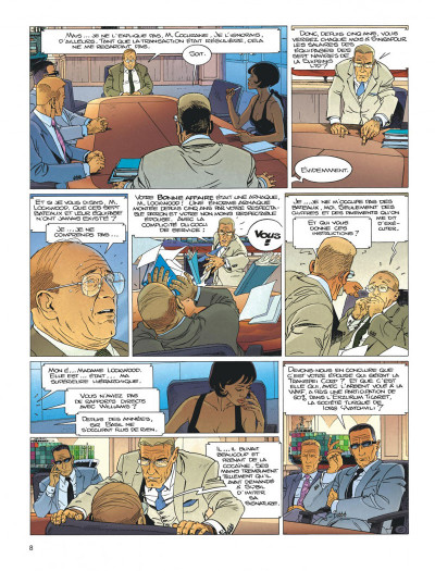 Page 8 Largo Winch tome 18