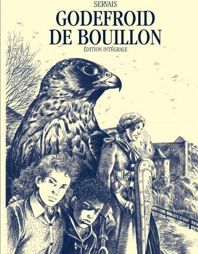 Couverture Godefroid de Bouillon - intégrale