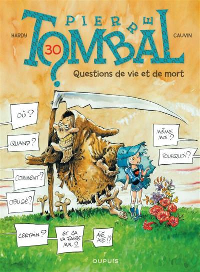 image de Pierre Tombal tome 30 - questions de vie et de mort